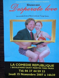 Affiche Desperate Love - A la Vie à l'Amour